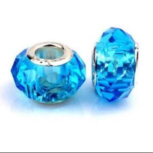 Jewelry - Silver MURANO GLASS BEAD LAMPWORK Fit European